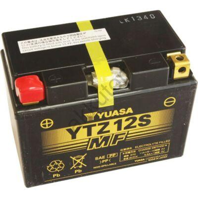 YUASA 12V 11 AH YTZ12S bal+ akkumulátor