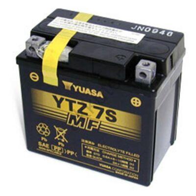 YUASA 12V 6 AH YTZ7S jobb+ akkumulátor