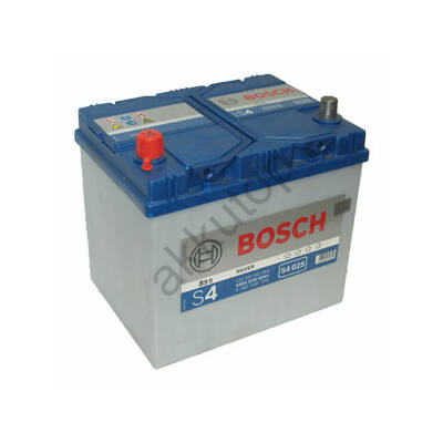 Bosch S4 60 Ah bal+ 0092S40250 akkumulátor