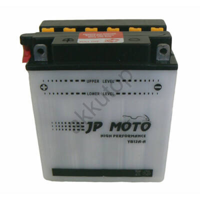 JPMoto 12V 12 Ah bal+ ( YB12A-A ) akkumulátor