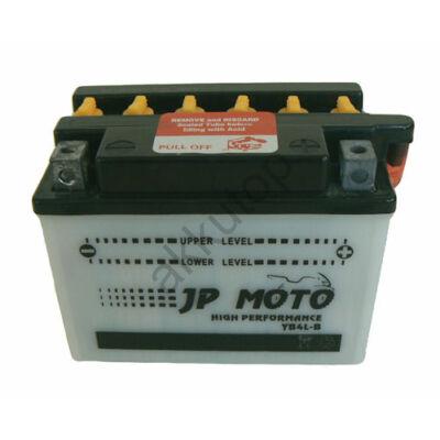 JPMoto 12V 4 Ah jobb+ ( YB4L-B ) akkumulátor