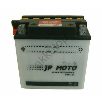 JPMoto 12V 9 Ah jobb+ ( YB9L-A2 ) akkumulátor