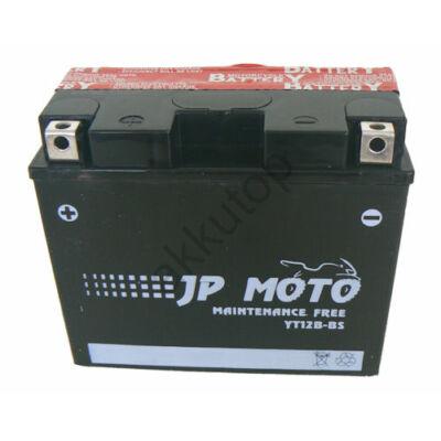JPMoto 12V 10 Ah bal+ ( YT12B-BS ) akkumulátor