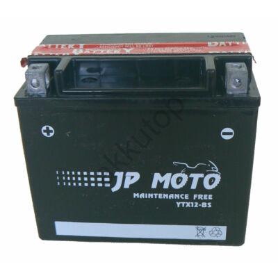 JPMoto 12V 10 Ah bal+ ( YTX12-BS ) akkumulátor