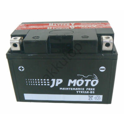 JPMoto 12V 10 Ah bal+ ( YTX12A-BS )
