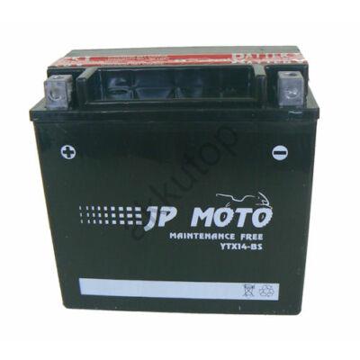 JPMoto 12V 12 Ah bal+ ( YTX14-BS )
