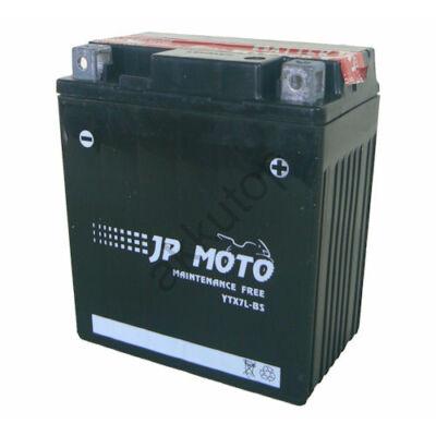JPMoto 12V 6 Ah jobb+ ( YTX7L-BS ) akkumulátor