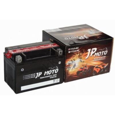 JPMoto 12V 8 Ah bal+ ( YTX9-BS ) akkumulátor