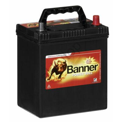 Banner Power Bull 40 Ah jobb+ (vékony sarus) P4026