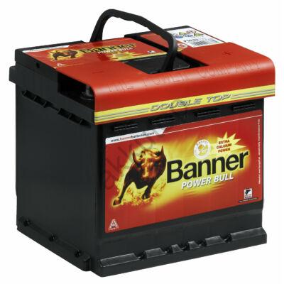 Banner Power Bull 50 Ah jobb +