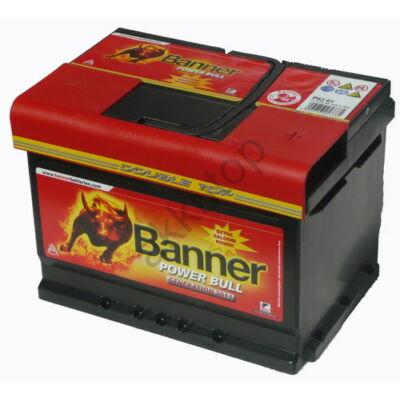 Banner Power Bull 62 Ah jobb+ P6219