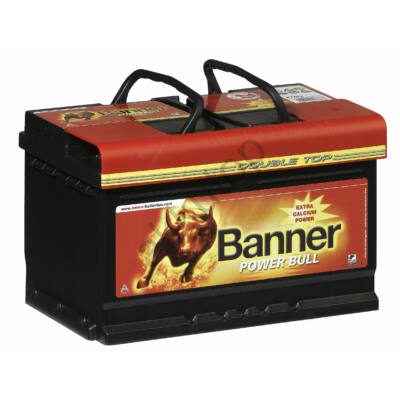 Banner Power Bull 72 Ah jobb+ P7209