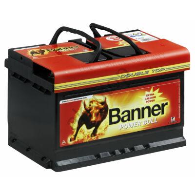 Banner Power Bull 74 Ah jobb+ P7412 akkumulátor