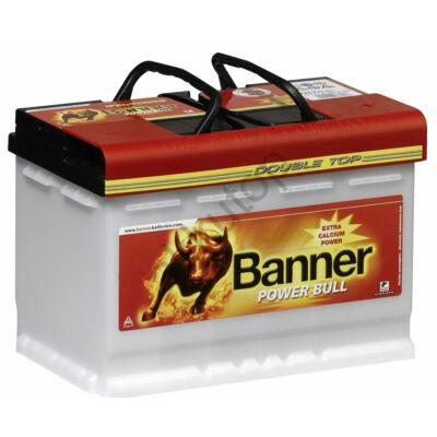 Banner Power Bull Professional 77 Ah jobb+ P7740 akkumulátor