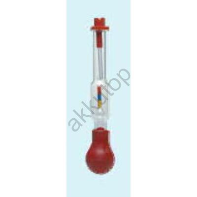 Minőségi pumpás savmérő (kicsi)