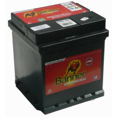 Banner Power Bull 42 Ah jobb+ (Punto) P4208