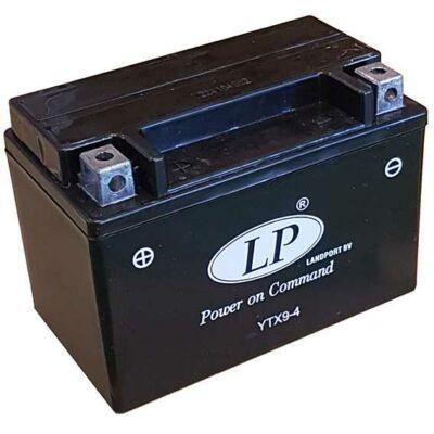 Landport 12V 8 Ah AGM+SLA bal+ ( YTX9-4, SLA 12-8 ) akkumulátor